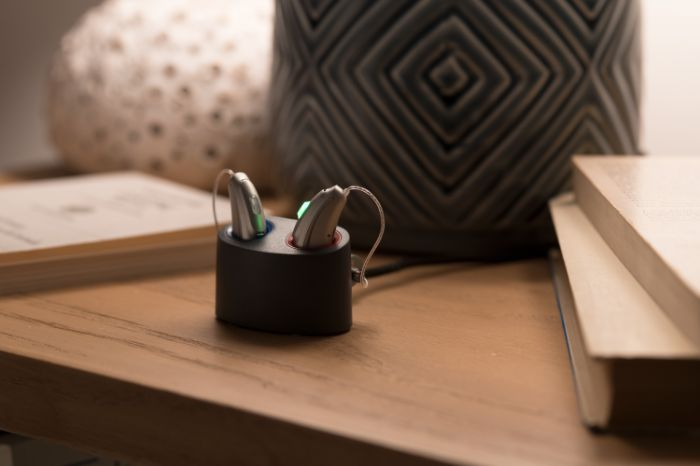 hearing aid recharger