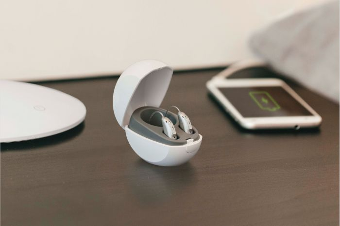 rechargeable hearing aids with mobile phone